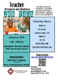 Teacher Job Fair image