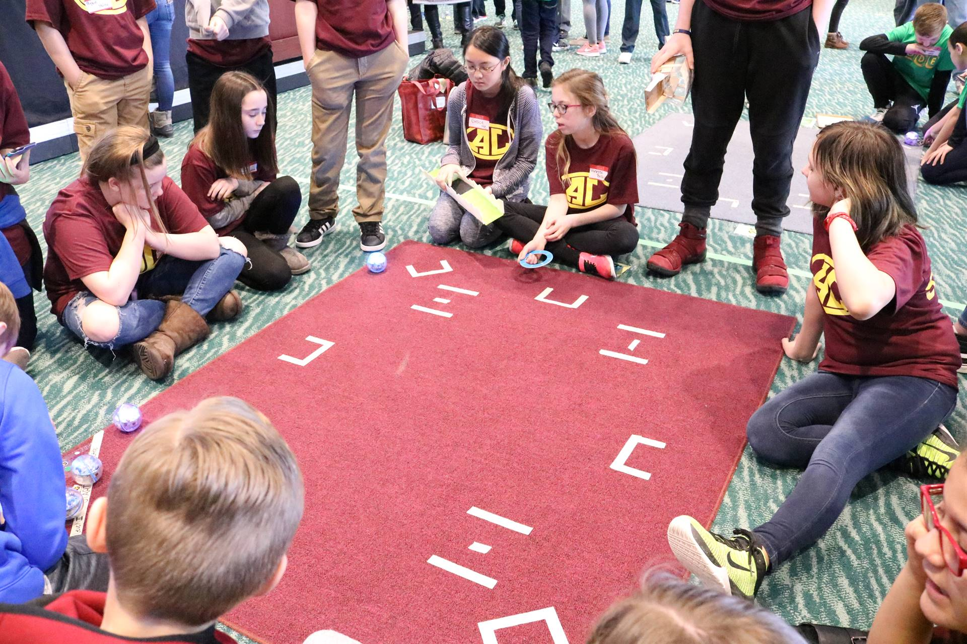 avon lake students sphero