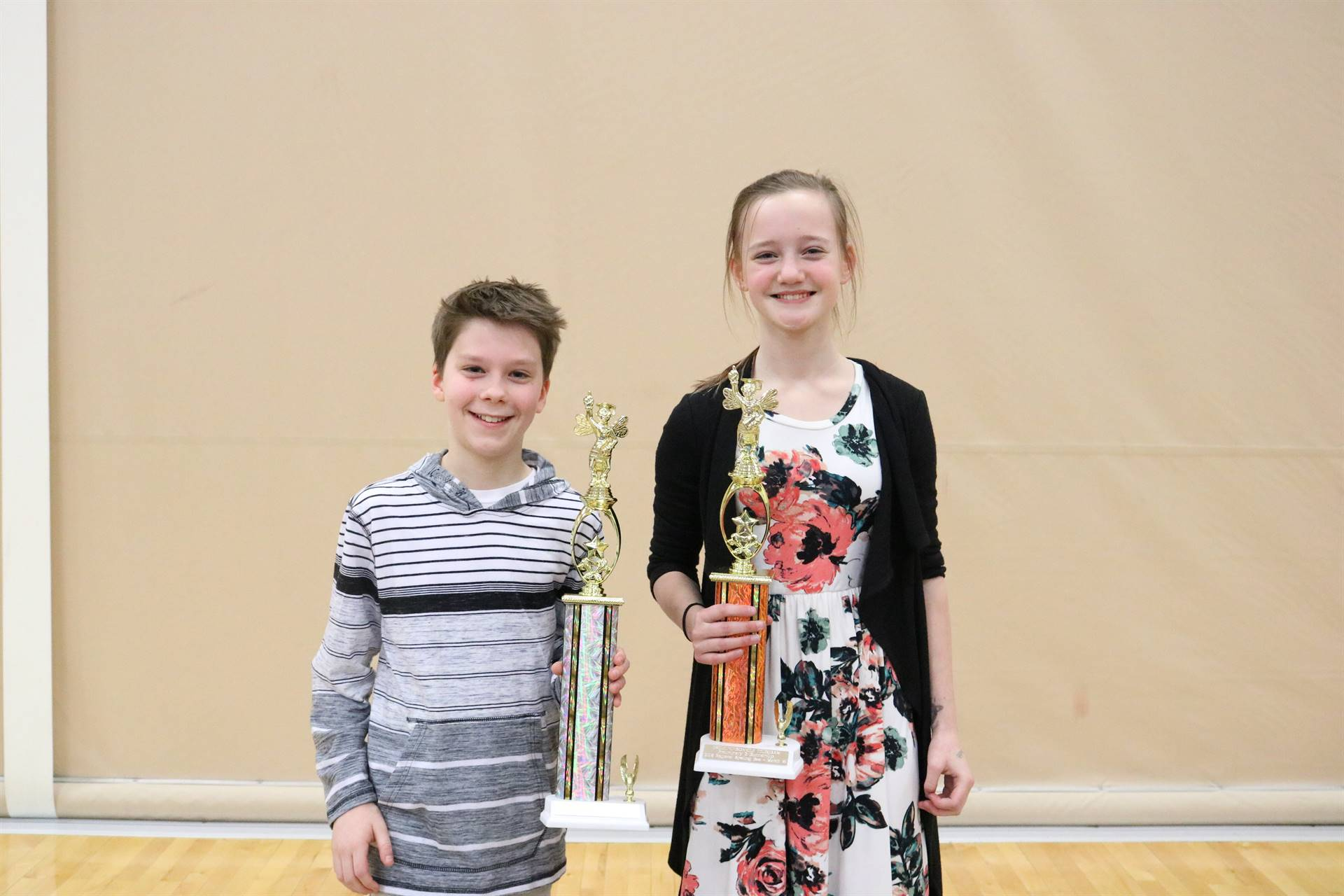 1st and 2nd place grade 7-8
