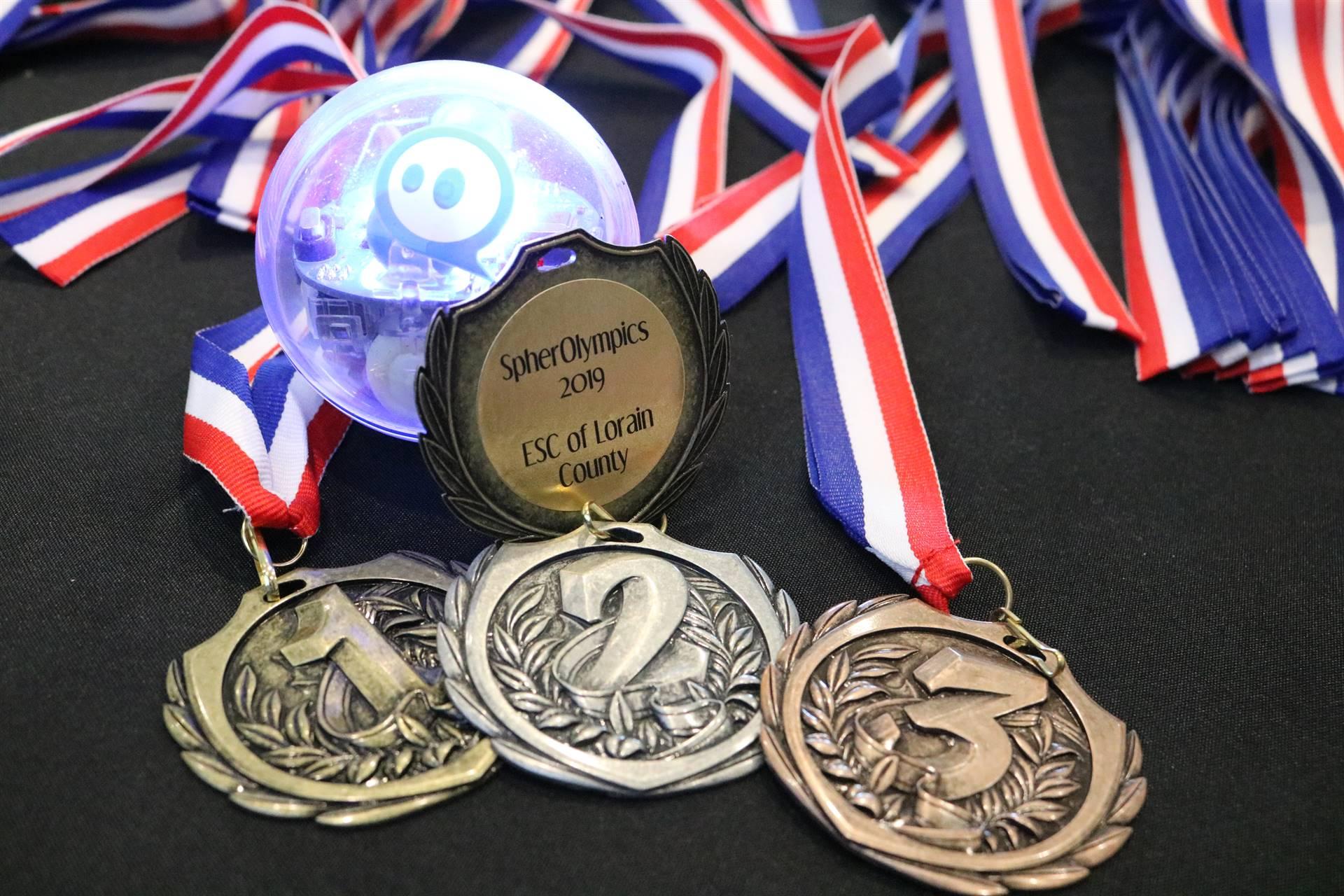 1-2-3 medals